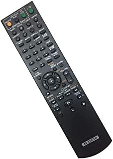 Easy Replacement Remote Control Suitable for Sony HCD-DZ555K DAV-DZ5556K DAV-DX150 DVD Home Theater System Receiver