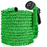 25FT/50FT/100FT/150FT Expandable Garden Hose, Leak Resistant Water Hose Pipe, Flexible Magic Hosepipes With