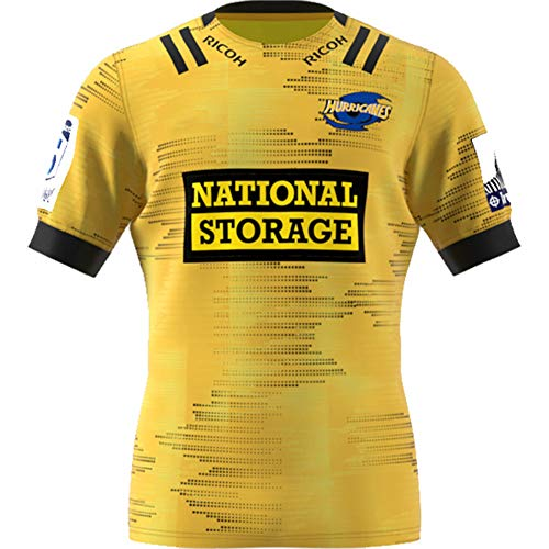 Herren Rugby Jersey / 2020 Chefs Rugby Jersey Kreuzritter Blues Hurricane Highlanders Rugby Jersey Fitnessstudio Komfortable Weste Sportswear T-Shirt (S-5XL)-Yellow-XXXL