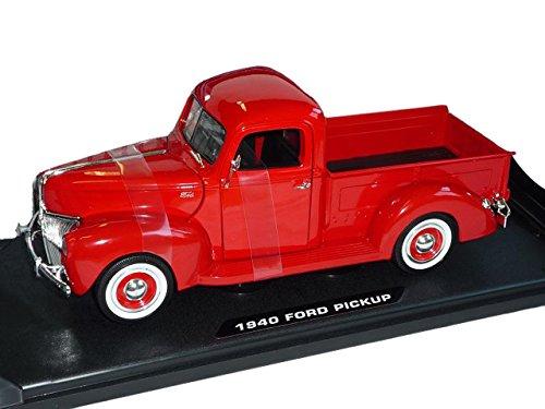 Ford Pick-Up, rot, 1940, Modellauto, Fertigmodell, Motormax 1:18