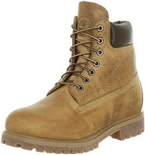 Men's 6' Premium Full Grain Boot,Wheat,13 M