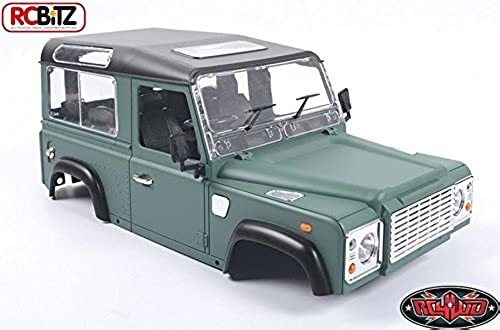 1 10 Land Rover Defender D90 Limited Edition Pre-painted Gre