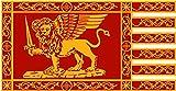 magFlags Tisch-Fahne / Tisch-Flagge: Republic of Venice | Most Serene Republic of Venice | Bendiera della Serenissima Repubblica di Venezia | ?????? ??? ??????????? ??????????? ??? ???????? | La Plej