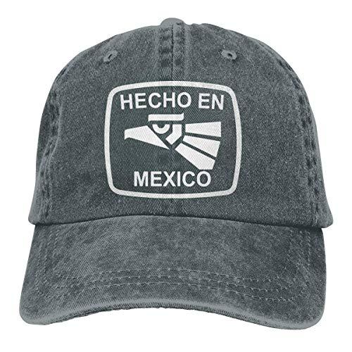 Hoswee Gorra de Béisbol Ajustable Mexico Mexico Adult Personalize Cowboy Hip Hop Cap Snapback Sombreros