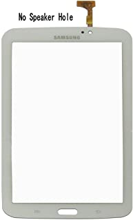 NIUTOP® ~Black White 7 Inch Touch Glass Screen Digitizer Replacement (No Speaker Hole)For Samsung Galaxy TAB 3 Sprint SM-T217S (White)