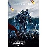 puzzles Transformers 5 The Last Knight Optimus Prime Movie Megatron Bumblebee Madera De 1000 Piezas(Color:ES)