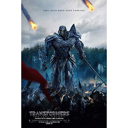 puzzles Transformers 5 The Last Knight Optimus Prime Movie Megatron Bumblebee Madera De 1000 Piezas(Color:ES)