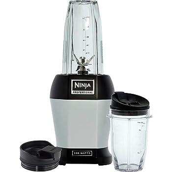 Ninja BL450EU Batidora de Vaso, Acero Inoxidable, 900 W, 0.65 ...