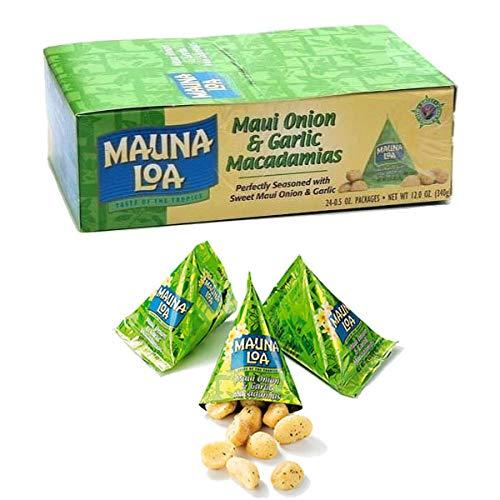 MAUNALOA(マウナロア) マカデミアナッツ オニオン・ガーリック小袋パック
