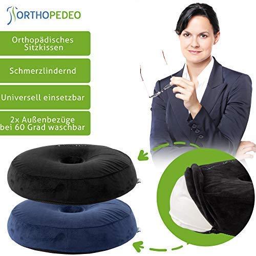 ORTHOPEDEO Orthopädisches Sitzkissen O-Form