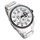 TECHNOS テクノス メンズ腕時計 BIG FACE クロノグラフ 10気圧防水 シルバーダイヤル ベルト調節工具セット SM-616-TS [並行輸入品]