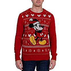 Disney Men's Ugly Christmas Sweater