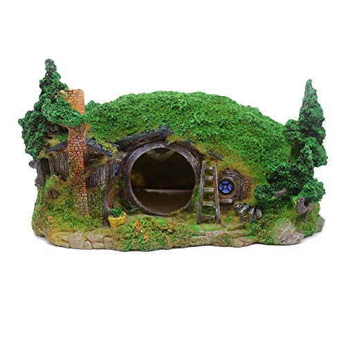 Ulifery Hobbit Hole Fairy House Aqu…