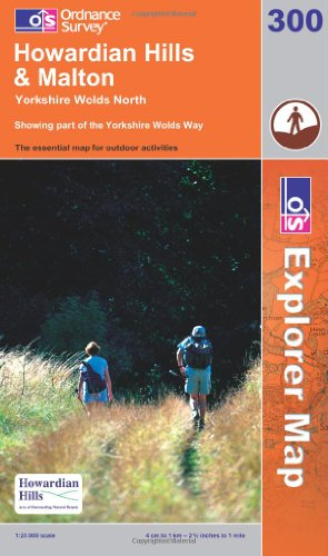 OS Explorer map 300 : Howardian Hills & Malton