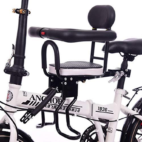 MAJOZ0 Asiento de bicicleta para niños, valla completa, asiento de bebé, asiento delantero de montaña, para bicicleta de 6 meses a 3 años