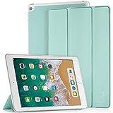 EasyAcc Funda compatible con iPad Air 2, funda ultra fina de piel sintética con función de soporte, función de encendido y apagado automático, compatible con iPad Air 2 2014, modelo Number A1566/A1567