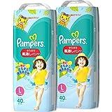 【パンツ Lサイズ】パンパース オムツ さらさら風通しパンツ (9~14kg) 80枚(40枚×2パック) ケース品