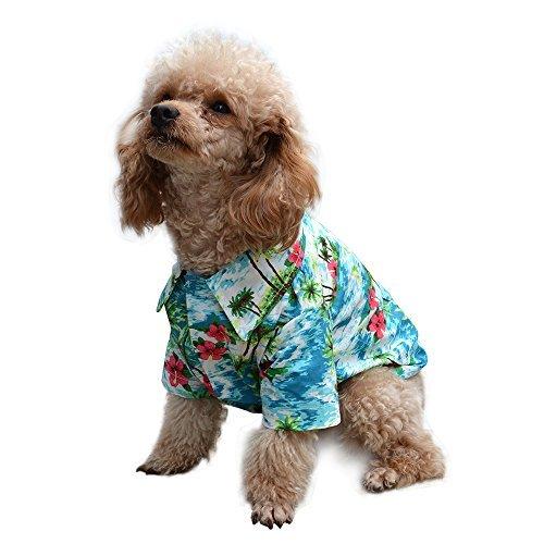 EXPAWLORER Hawaiian Pet Dog Polo T-Shirts