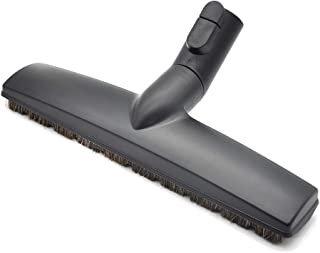 EZ SPARES Replacement of SBB Parquet Anti-Collision Smooth Floor Brush with Horsehair for Miele Vacuum Cleaner 35mm 1 3/8
