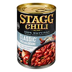 Spicy slow-simmered two-bean chili 16 grams of protein per serving 100% Natural; no artificial ingredients, minimally processed Easy pull top Perfect for bowls, dips, dogs, and appetizers