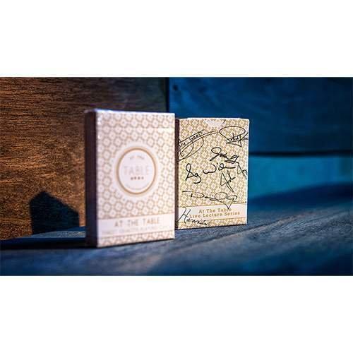 SOLOMAGIA Mazzo di Carte At The Table Playing Cards: Signature Edition (Limited) - Mazzi di Carte da Gioco - Giochi di Prestigio e magia