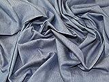 113,4g Washed Denim Baumwolle Kleid Stoff Medium
