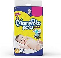 MamyPoko Pants Standard Diapers, Small (4 - 8 kg), Pack of 46