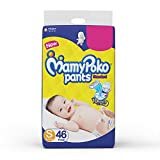 MamyPoko Pants Standard Diapers, Small (4 - 8 kg), Pack of 46