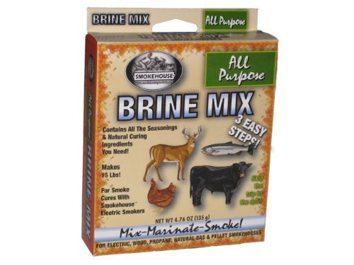 Smokehouse Products All Purpose Natural Brine Mix, Pack of 1 by SmokeHouse