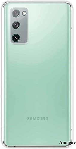 Amagav Soft Silicone Mobile Back Cover For Samsung Galaxy S20 FE Case And Covers For Boys Girls