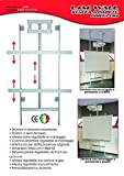 limw Wandhalterung-Tafel interaktiv multimediane und Bildschirme Monitor Touch–Universal passt auch auf Wänden in Gipskarton