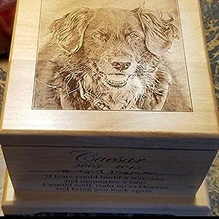 Large Pet Memorial urn Pet Cremation Urn Memorial Gifts Dog Lovers Gifts Custom Urn Personalized Dog Keepsake Urn Cat Urn Cat Memorial Pet Memorial Box large dog urn for ashes