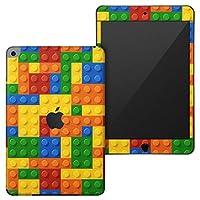 igsticker iPad mini 4 (2015) 5 (2019) 専用 全面スキンシール apple アップル アイパッド 第4世代 第5世代 A1538 A1550 A2124 A2126 A2133 シール フル ステッカー 保護シール 001168 ユニーク その他 ブロック カラフル