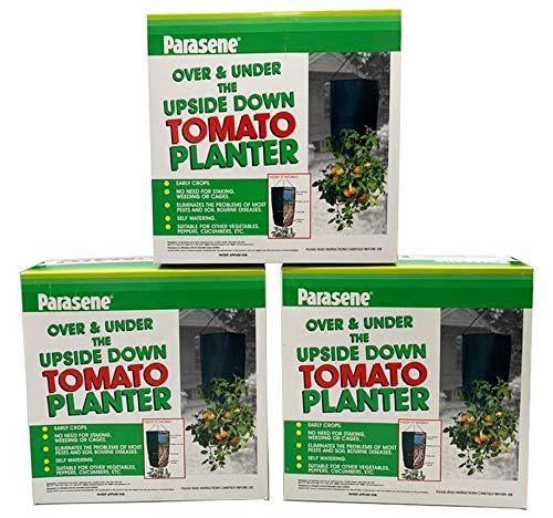 Parasene - Vaso per pomodori sopra-sottosopra (confezione da 3)