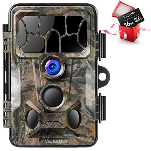 Victure Trail Game Camera 20MP with Night Vision Motion...
