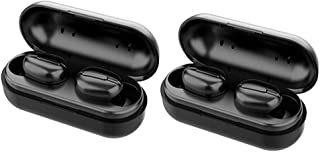 #N/A 2x L13 Sport Bluetooth 5.0 Hörlurar Hörlurar Svart