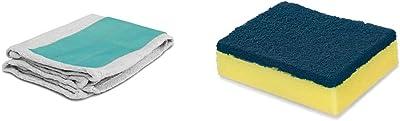 Spotzero by Milton Pocha (Aqua Green and Grey)+Spotzero by Milton Sponge and Scrub