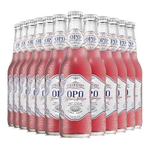 OPO Vino Rosado Fresa - Pack 12 botellas x 33cl