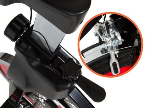 GOSPORT.IT Allenamento Spin Bike Professionale Cyclette AEROBICO Home Trainer, Bici da Fitness_Allenamento Spin Bike Cyclette AEROBICO Home Trainer, Bici da Fitness