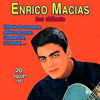 Les premiers succès 1962-1963 (25 titres)