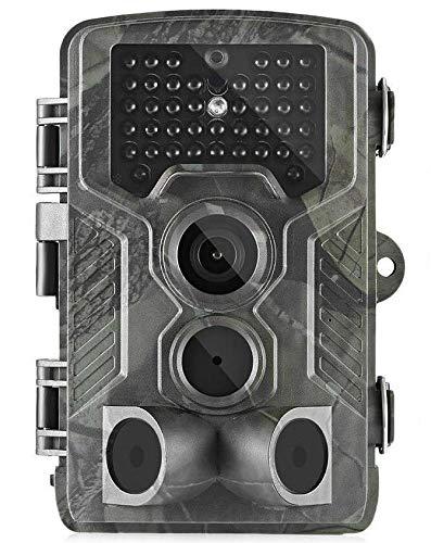 24MP HC-800 LTE 4G Wildkamera Full HD 42 Black LED 0,3 Sek Trigger 120° Fotofalle Überwachungskamera Jagdkamera GSM MMS SMTP SMS Jagd Wild Kamera Hunting Trail Camera Suntek 4G 3G 2G LTE