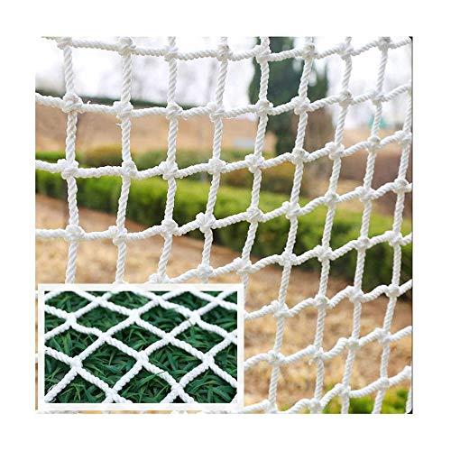 Safe Net Kids Beschermend gaas Wanddecoratie Heknet, gebruikt voor raam Balkontrappen Kinderbescherming Wit touw Veiligheidsnet