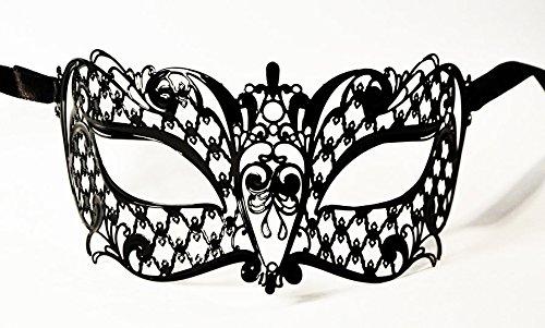 JapanAttitude Masque loup vénitien élégant gothique Brillina