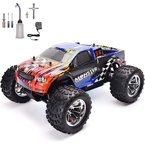 HSP RC Car 1:10 High Speed Off Road RC Truck Nitro Power 4wd Remote Control Car
