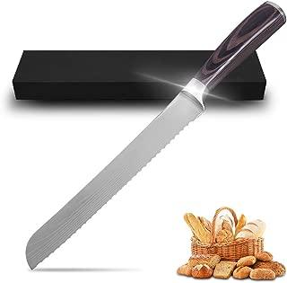 serrated steel knife