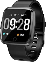 Maypott Fitness Tracker, Smart Watch with Heart Rate Monitor, Activity Tracker Blood Pressure Sleep Monitor, Step Counter, IP67 Waterproof Sport Watches Tracker Large Touch Screen for Women & Men