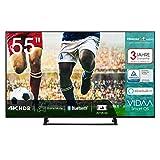 Hisense H55BE7200 138 cm (55 Zoll) Fernseher (4K Ultra HD, HDR, Triple Tuner, Smart-TV, Mittelfuß)...