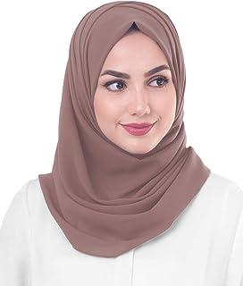 Inessence New Sheer Georgette Scarf Ladies Wrap Large Hijab