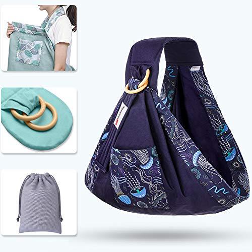 FairOnly Baby - Pañuelo portabebés multifunción Horizontal para 4 Estaciones