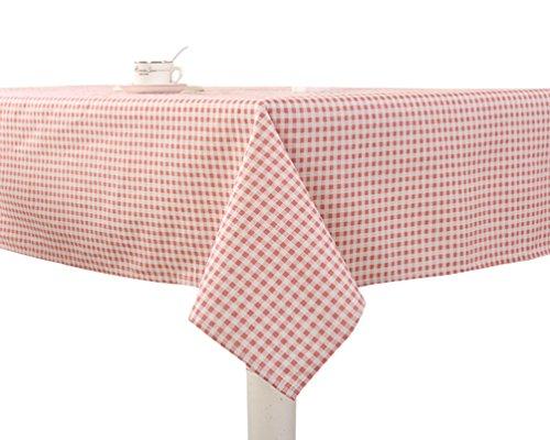 YOUJIA Rectangulaire Housses Linge de Table Style de Campagne Nappe de Table pour Table/Table à café/Poste de télévision/Chaises/Photographie (Plaid #1, 140 * 180cm)